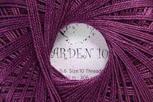 Garden 10 Crochet Thread 700-52 Deep Purple
