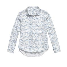 Porcelain Horse Print Silk Shirt – Jimmy Hooves