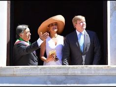Queen Maxima and King Willem Alexander of the Netherlands visited Palerm...