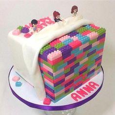 lego girls cake
