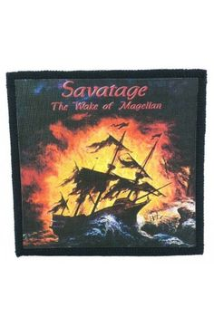 SAVATAGE - The Wake of Magellan (toppa piccola)   - misure: (larghezza 9,8 cent. - altezza 9,8 cent.)