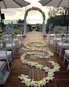 """The path from I to We"" #weddingwednesday #LaubergeDelMarWeddings"