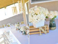 Ivory, Blush & Gold Bridal Shower