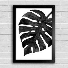 Poster Palm Leaf - Encadreé Posters