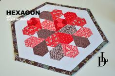 Patchwork Hexagon Diamonds - Prostírka