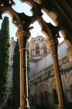 The Royal Abbey of Santa Maria de Poblet by Ramón Sobrino Torrens