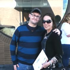 Ronnie Talbot and Me at CBS Big Brother 14 Casting call Cincinnati Lunar Bar 2012