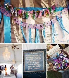 Purple and orange wedding reception ideas for wedding reception fun north carolina wedding brooke ryan junglespirit Gallery