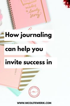 How journaling can help you invite success in — Nicole Tewierik Business Goals, Business Branding, Business Tips, Online Business, Journal Prompts, Manners, Journaling, Success, Hands