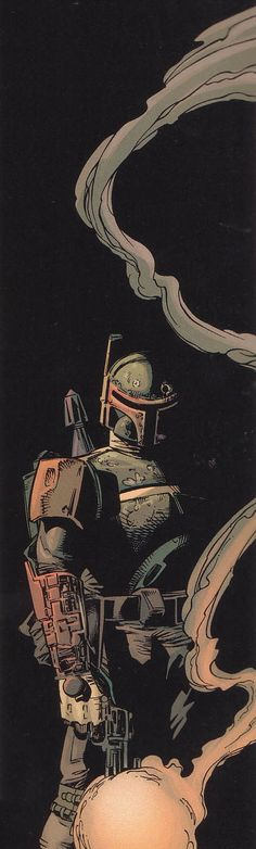 Star Wars - Boba Fett by Mike Deodato Jr. *