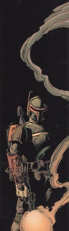 Star Wars - Boba Fett by Mike Deodato Jr. *