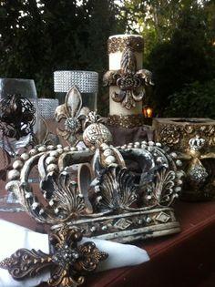 Fleur De Lis Accessories Crown Decorstyles Of Homesmediterranean