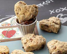 Valentine's Day Scones with Fig Jam by #Wilton. #ilovewilton