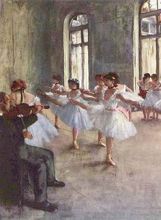 Degas ballerinas, my favorite artist.