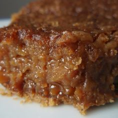 Brown Sugar Pie Recipe - Key Ingredient...i love the inside of the pecan pie but hate pecans so I'm happy