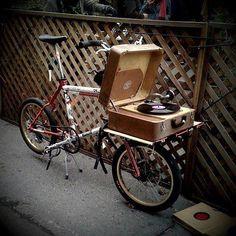 Turntable bike