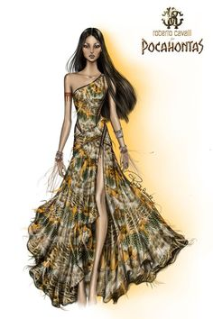 Pocahontas by Roberto Cavalli   Choco-chic