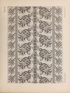 ru / Фото # 46 – Sample book of old Italian linen embroidery 1 … - Stickerei Ideen Filet Crochet, Knit Crochet, Fair Isle Pattern, All Craft, Pin Cushions, Textile Art, Needlepoint, Cross Stitch Patterns, Quilts