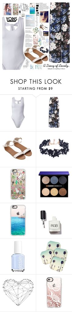 """""""Yoins 3/10 ♥"""" by av-anul ❤ liked on Polyvore featuring Vanessa Mooney, Casetify, Lancôme, Essie, Dot & Bo, WALL and ARI"""