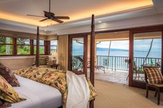 Second master bedroom with spectacular open air view.