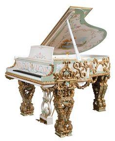 151: Steinway & Sons extravagant art case piano