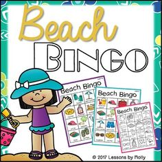 A Beach Vacation Packing List for Your Next Getaway Beach Vacation Packing List, Beach Trip, Special Needs Students, English Language Learners, Bingo Games, Calling Cards, Beach Items, Beach Fun
