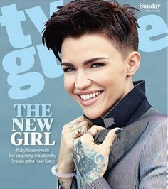 EN IMAGES. Ruby Rose, la nouvelle bombe d'«Orange is the new black»
