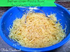 Better-than-Pastaroni: Parmesan Spaghetti Squash