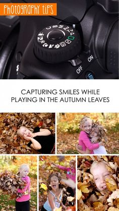 Learn how to take the best #photos of your family this #fall