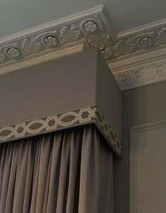 Beautiful border from Samuel & Sons Passementerie   #pelmet #curtains #interiordesign