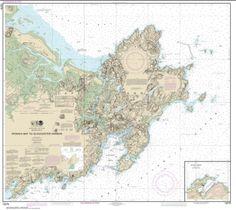 Ipswich Bay to Gloucester Harbor; Rockport Harbor (13279-34) by NOAA