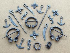 Steel brooches and pendants 4 by Astalo on DeviantArt