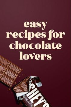If your family loves chocolate, these recipes are sure to keep everyone happy. #Heartwarmingtheworld Chocolate Fit, Chocolate Lovers, Chocolate Desserts, Easy Desserts, Delicious Desserts, Yummy Food, Easy Snacks, Tasty, Fun Baking Recipes