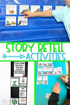 Improve reading comprehension with these story retell activities using authentic texts for kindergarten, first, and second grade. Fun and engaging resources to practice reading strategies. #readingcomprehension #storyretellactivities #engagingreaders