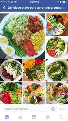 Salad Recipes, Diet Recipes, Cooking Recipes, Healthy Recipes, Quick Lunch Recipes, Menu Dieta, Deli Food, Fruits And Veggies, Meal Prep