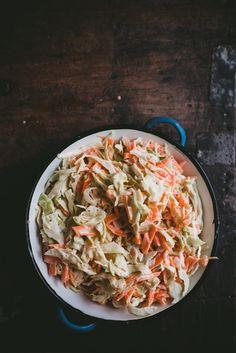 Coleslaw (GF) – Viimeistä murua myöten Coleslaw, A Food, Cabbage, Vegetables, Eat, Ethnic Recipes, Food Ideas, Coleslaw Salad, Veggies