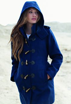 Womens Duffle Coat with Toggle – By Joules. I love everything