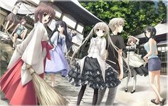 New Japanese 'Yosuga no Sora' Blu-ray Anime Box Set Gets First Promo