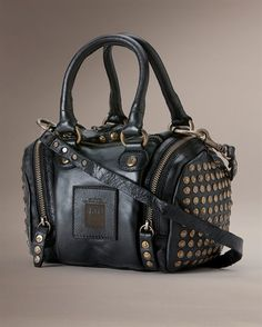 Frye Brooke Small Satchel : Saw this at Free People and I wanted to cry. It's so badass.