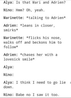 I love this whole idea of everyone freaking out when Adrien starts flirting with Marinette and her just teasing him Ladybug E Catnoir, Ladybug Comics, Lady Bug, When Things Go Wrong, Miraculous Ladybug Fan Art, Fandoms, The Power Of Love, Kids Shows, Just In Case