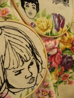 Emma Seymour - hand embroidery by maura