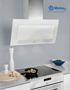 BALAY Campana Decorativa de 90cm. en Cristal Blanco 3BC8890B http://www.materialdirecto.es/es/decorativas/16091-balay-campana-3bc8890b--4242006210823.html