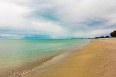 A Sanibel beach line.