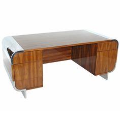 Pace Executive Desk | 1stdibs.com #1stdibsholiday