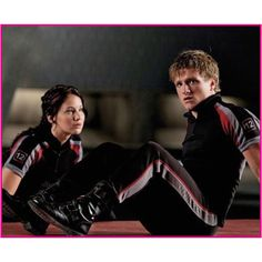 Katniss and Peeta together? The world is good! Lol