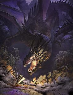 Margieesza, one of the good girls, a girl of the red Tower has a dragon. Her dragon roars at an ambushed enemy.