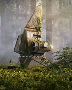 Space_Cruiser+Stamped-ryan-talbot - Car Tutorial and Ideas Star Wars Rpg, Star Wars Ships, Star Citizen, Art Science Fiction, Post Apocalyptic Art, Apocalypse Art, Star Wars Concept Art, Environment Concept Art, Fantasy Landscape