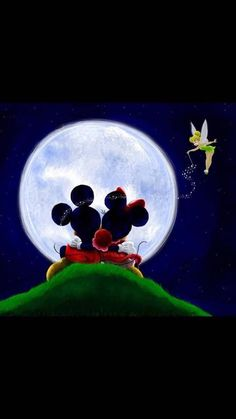 *m. Mickey, Minnie, and Tink