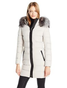 Mackage Women's Calla Fitted Lightweight Down Jacket * Check this awesome product by going to the link at the image.