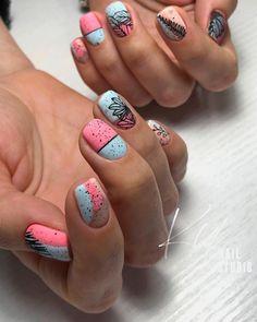 Hot Nails, Hair And Nails, Wedding Nails Design, Geometric Nail, Oval Nails, Dream Nails, Nagel Gel, Nail Manicure, Nails Inspiration